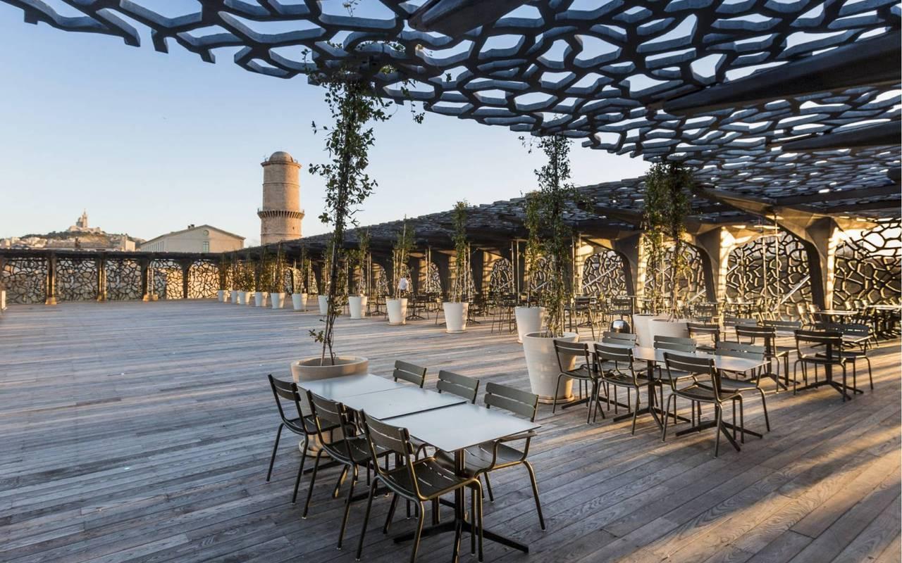 Le Môle seaside restaurant in Marseille