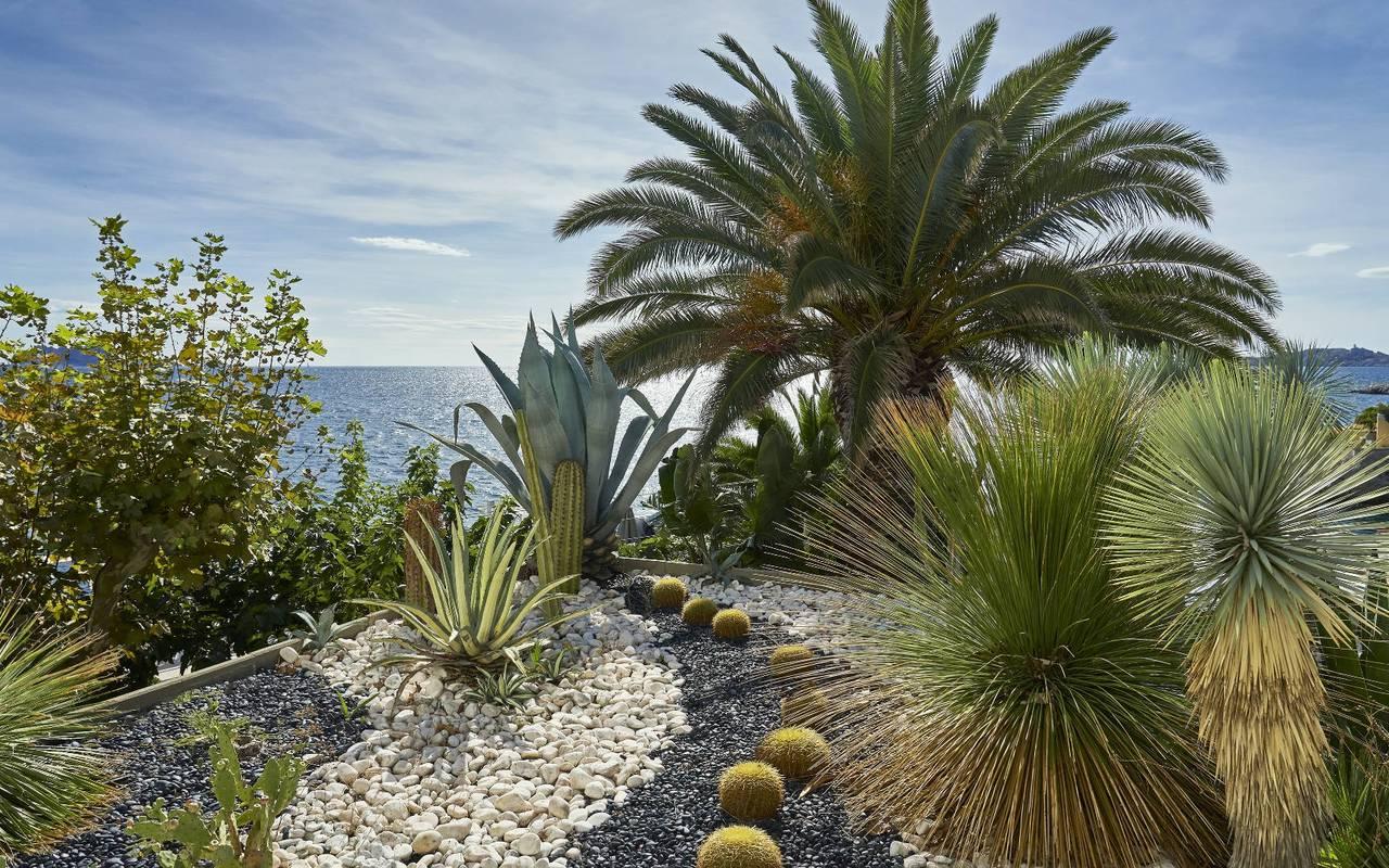 Atypical garden hotel marseille