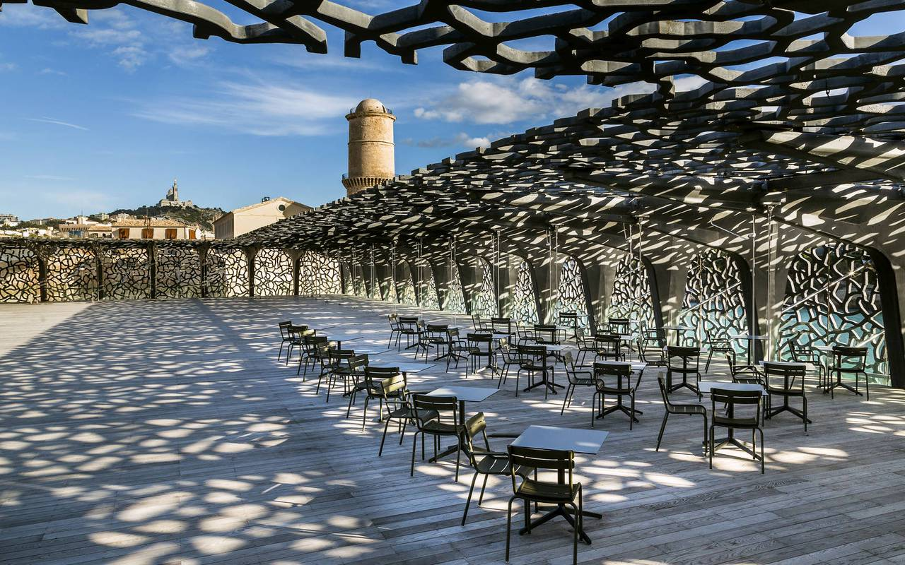 mucem restaurant terrace