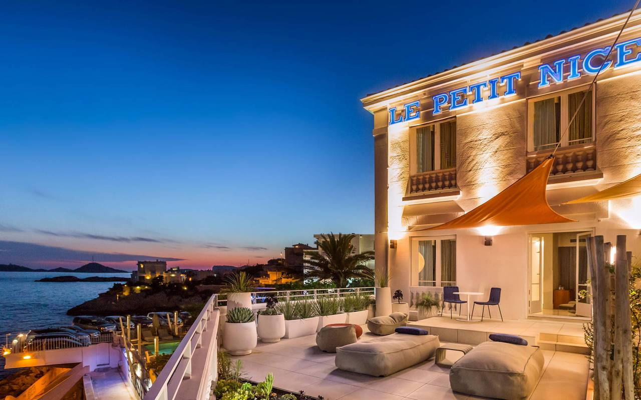 Terrasse du Petit Nice, Marseille Hôtel 5 étoiles