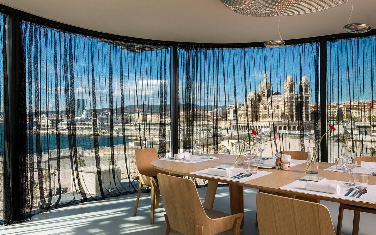 Le Môle restaurant vue mer marseille