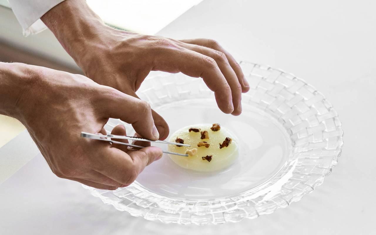 Plat raffiné restaurant atypique marseille